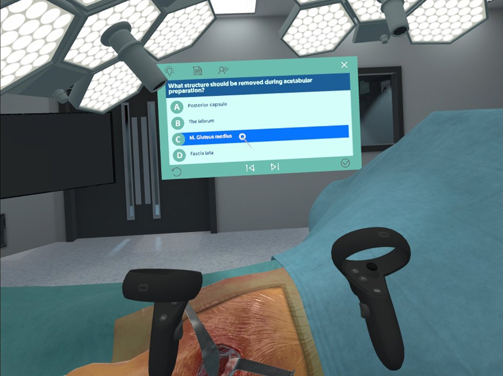 Practice and learn whenever, wherever and however you want. The Fundamental Surgery platform is now available on Oculus Quest as well as our HapticVR system.